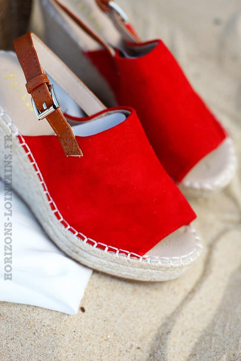 Sabots-compensés-rouges-semelle-espadrille--c25