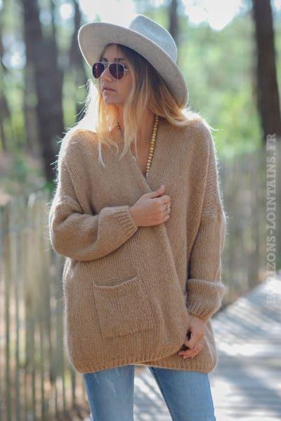 Gilet-camel-col-enveloppant-avec-poches-c21-6