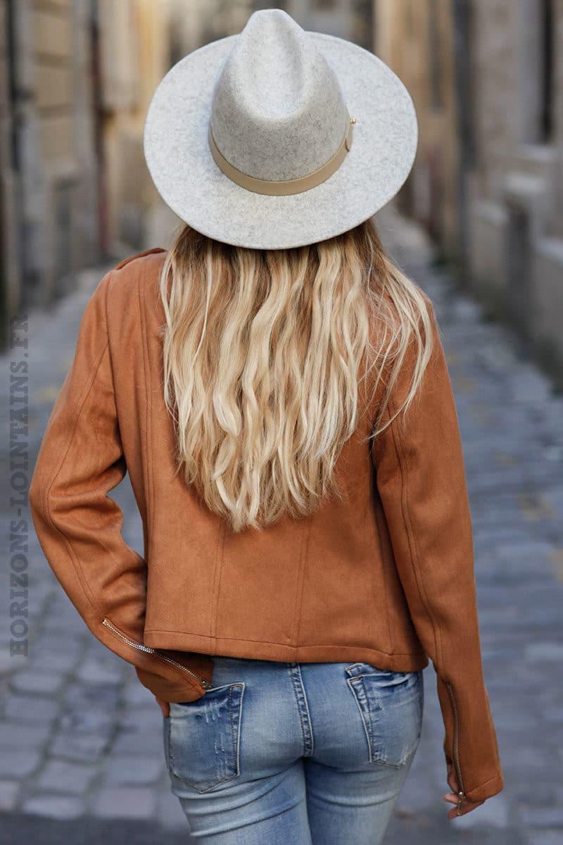 Perfecto-camel-en-suédine--c201-9