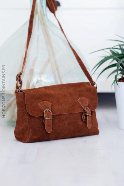 sac cartable croute de cuir (1)