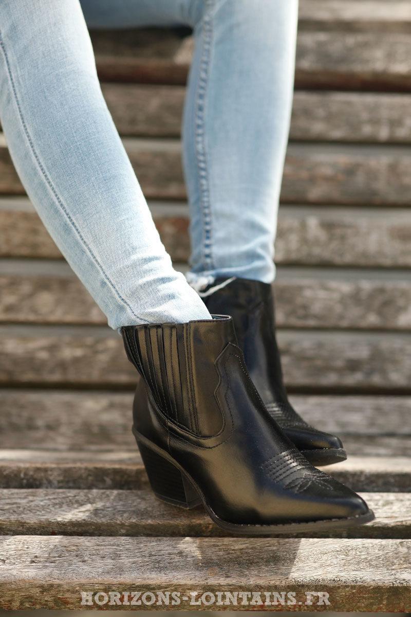 bottines-noires