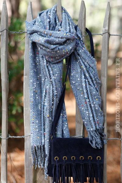 Echarpe-douce-bleu-chiné-accessoire-femme-look-bohème-esprit-hippie-018
