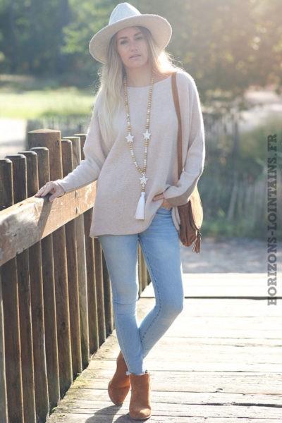 Pull-bicolore-beige-avec-cachemire-top-femme-automne-hiver-esprit-bohème-chic-C225