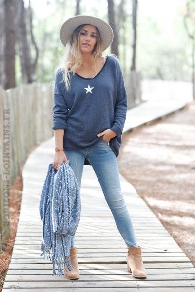 Pull-bleu-marine-confort-avec-étoile--c216