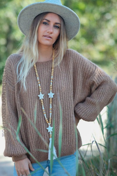 Pull-loose-camel-grosses-mailles-en-mohair--c219