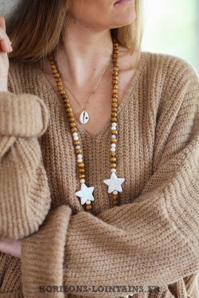 Pull-loose-camel-mohair-avec-poches-vêtement-femme-hiver-C218
