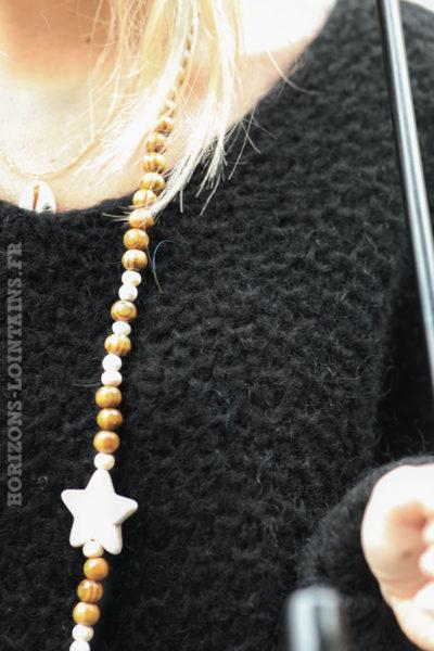 Pull-noir-chaud-maille-nid-abeille-vêtements-femme-confortable-C209