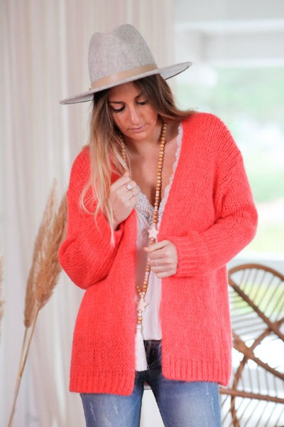 Gilet-corail-fluo-grosses-mailles-c021