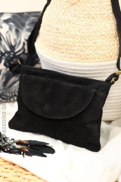 Sac-bandoulière-noir-grande-poche-cuir-velours