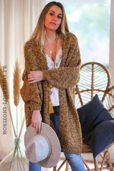 Gilet-long-moutarde-chiné-femme-look-esprit-bohème-hippie-C032