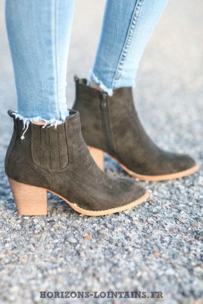 Low-boots-kaki-en-suédine-C032