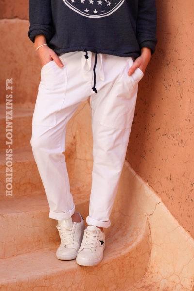 Pantalon-de-jogging-urbain-à-poches-blanc-004