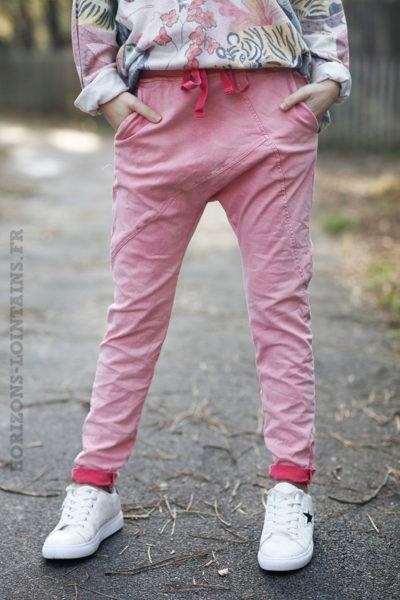 Pantalon-corail-délavé-coupe-baggy-c45