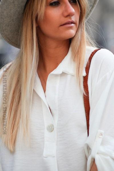 Tunique-fluide-blanc-cassé-avec-col-chemise-et-bouton-nacre-d6 1