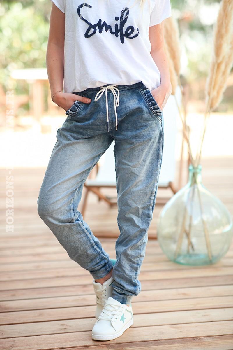 Jean-coupe-jogg-avec-poches-plissées-c47
