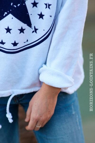 Sweat-à-capuche-blanc-confort-étoiles-d025
