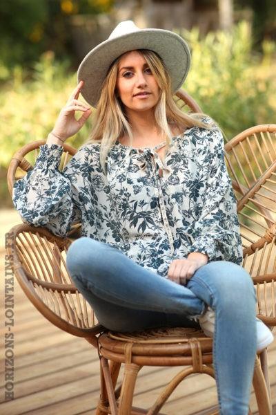 Blouse-légère-motif-floral-bleu-petrole-vêtements-femme-esprit-bohème-style-hippie-D070V