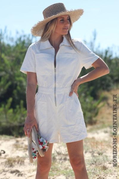 Combishort-en-jean-blanc-avec-fermeture-zip-combi-blanche-femme-D011
