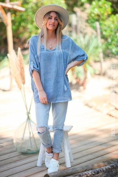 Tunique-bleu-jean-en-coton--d55