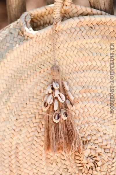 porte-clé-pendentif-accessoire-sac-jute-et-coquillage
