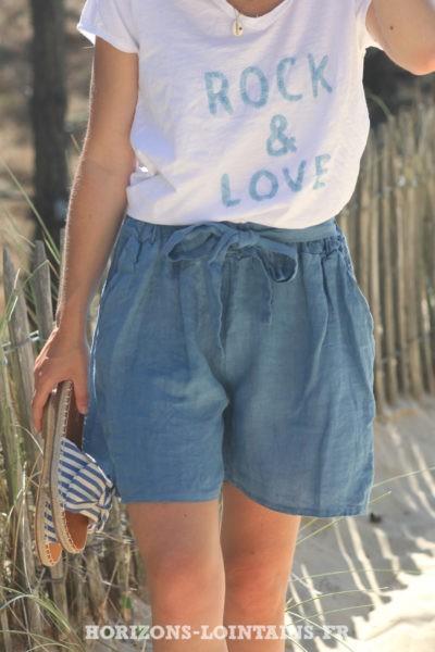 Short-bleu-jean-matière-lin-shorts-femme-confortable-esprit-bohème-hippie-D042