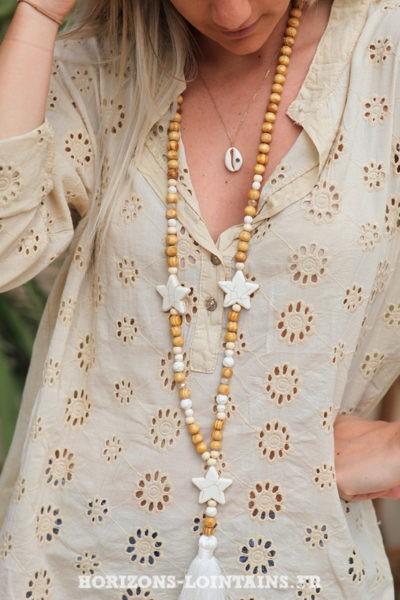 Tunique-beige-coton-fleurs-broderie-anglaise-blouse-bohème-hippie