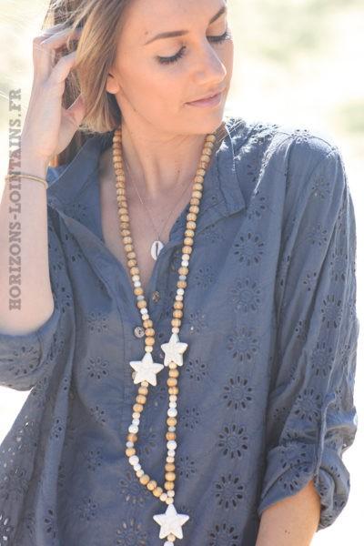 Tunique-navy-coton-fleurs-broderie-anglaise-blouse-hippie-style-bohème-bleu-marine-D108