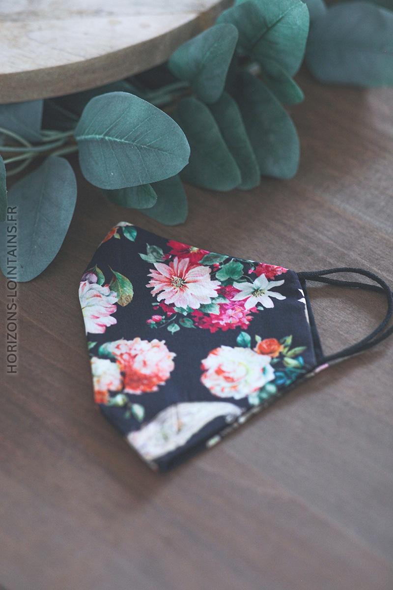 Masque motif floral E012 (1)