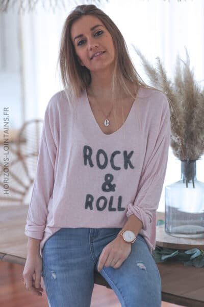 Pull rose pale fin rock and roll E039 (1)