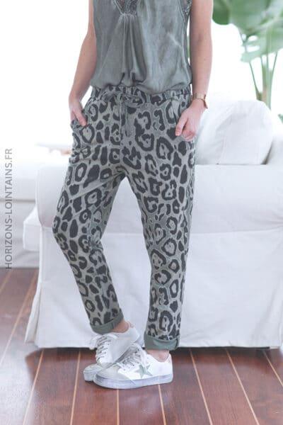 jogging leopard kaki E024 (1)