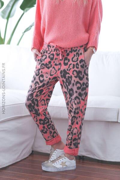 jogging leopard rose flashy E024 (1)